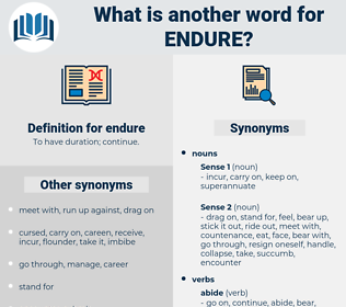 endure, synonym endure, another word for endure, words like endure, thesaurus endure