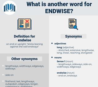 endwise, synonym endwise, another word for endwise, words like endwise, thesaurus endwise