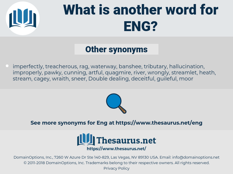 ENG, synonym ENG, another word for ENG, words like ENG, thesaurus ENG
