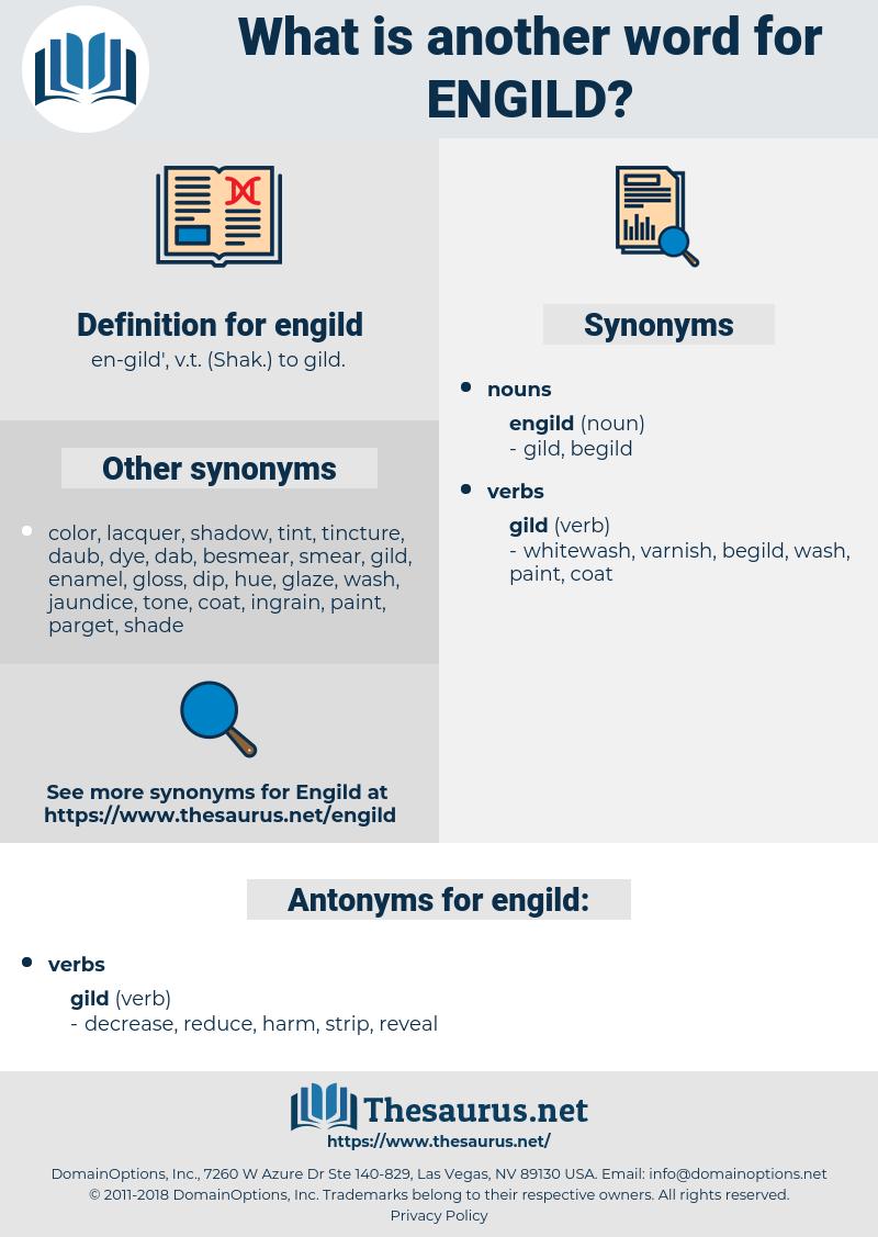 engild, synonym engild, another word for engild, words like engild, thesaurus engild