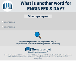 engineer's day, synonym engineer's day, another word for engineer's day, words like engineer's day, thesaurus engineer's day