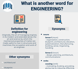 engineering, synonym engineering, another word for engineering, words like engineering, thesaurus engineering
