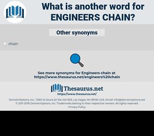 engineers chain, synonym engineers chain, another word for engineers chain, words like engineers chain, thesaurus engineers chain