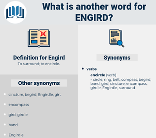 Engird, synonym Engird, another word for Engird, words like Engird, thesaurus Engird