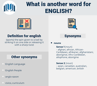 english, synonym english, another word for english, words like english, thesaurus english