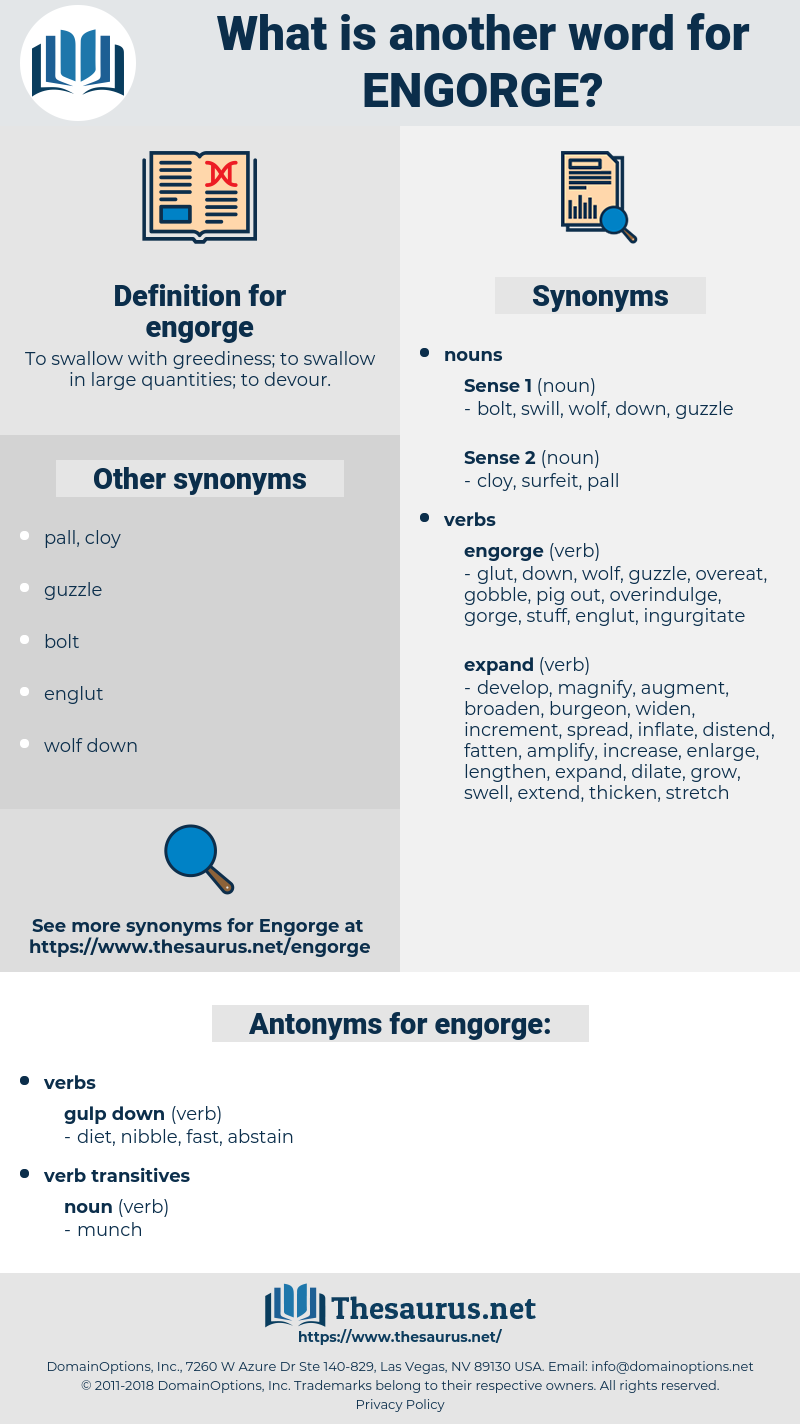 engorge, synonym engorge, another word for engorge, words like engorge, thesaurus engorge