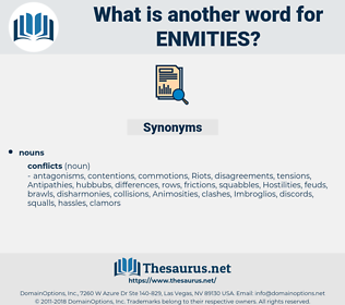 Enmities, synonym Enmities, another word for Enmities, words like Enmities, thesaurus Enmities