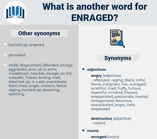 enraged, synonym enraged, another word for enraged, words like enraged, thesaurus enraged