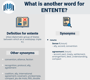 entente, synonym entente, another word for entente, words like entente, thesaurus entente
