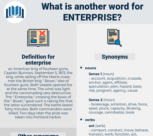 enterprise, synonym enterprise, another word for enterprise, words like enterprise, thesaurus enterprise