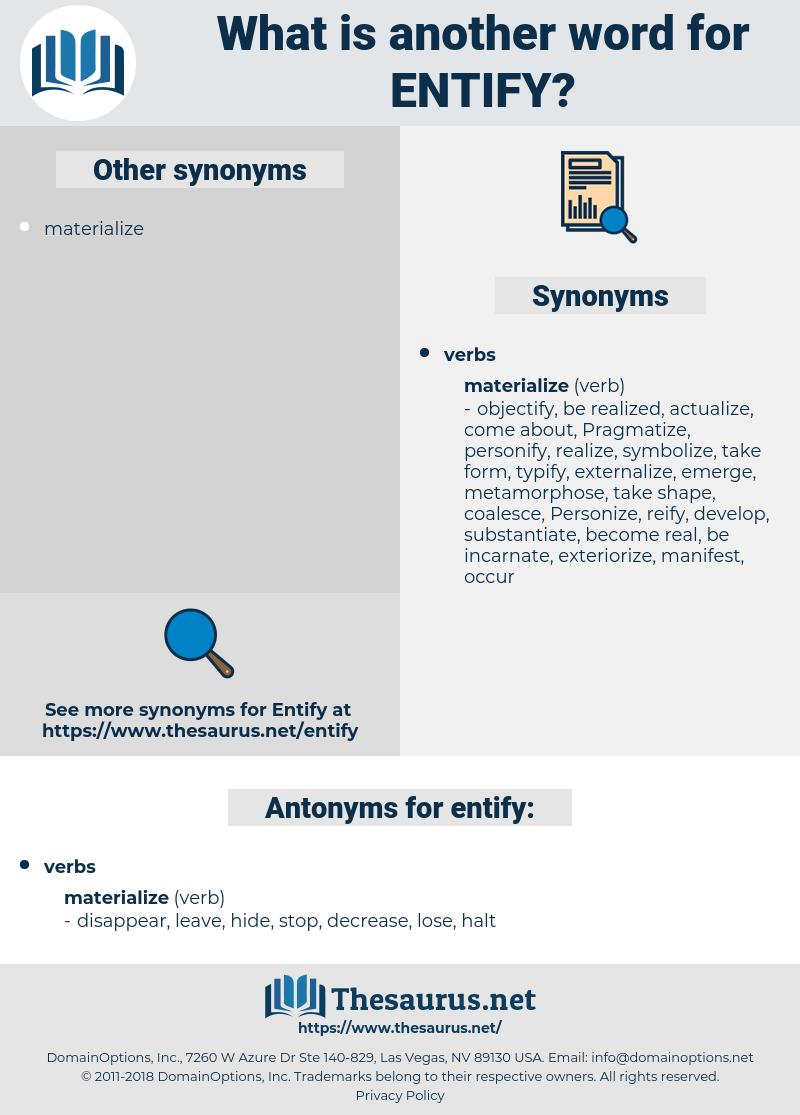 entify, synonym entify, another word for entify, words like entify, thesaurus entify