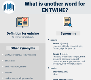 entwine, synonym entwine, another word for entwine, words like entwine, thesaurus entwine
