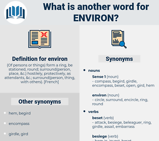 environ, synonym environ, another word for environ, words like environ, thesaurus environ
