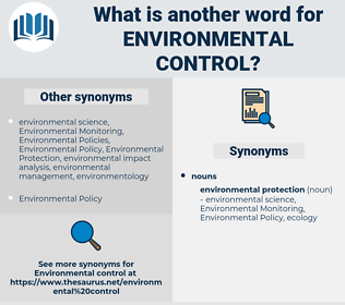 environmental control, synonym environmental control, another word for environmental control, words like environmental control, thesaurus environmental control