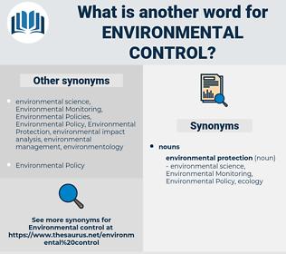 environmental control, synonym environmental control, another word for environmental control, words like environmental control, thesaurus environmental control
