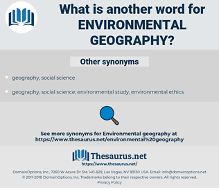 environmental geography, synonym environmental geography, another word for environmental geography, words like environmental geography, thesaurus environmental geography