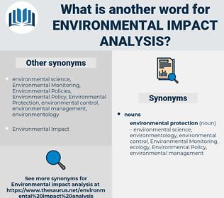 environmental impact analysis, synonym environmental impact analysis, another word for environmental impact analysis, words like environmental impact analysis, thesaurus environmental impact analysis