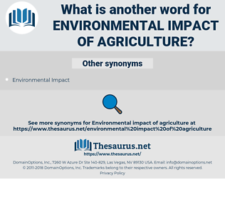 environmental impact of agriculture, synonym environmental impact of agriculture, another word for environmental impact of agriculture, words like environmental impact of agriculture, thesaurus environmental impact of agriculture