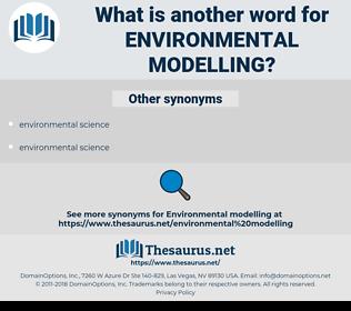 environmental modelling, synonym environmental modelling, another word for environmental modelling, words like environmental modelling, thesaurus environmental modelling