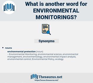 environmental monitorings, synonym environmental monitorings, another word for environmental monitorings, words like environmental monitorings, thesaurus environmental monitorings
