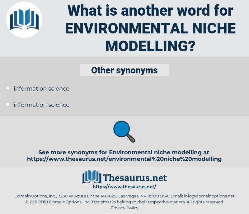environmental niche modelling, synonym environmental niche modelling, another word for environmental niche modelling, words like environmental niche modelling, thesaurus environmental niche modelling