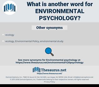 environmental psychology, synonym environmental psychology, another word for environmental psychology, words like environmental psychology, thesaurus environmental psychology