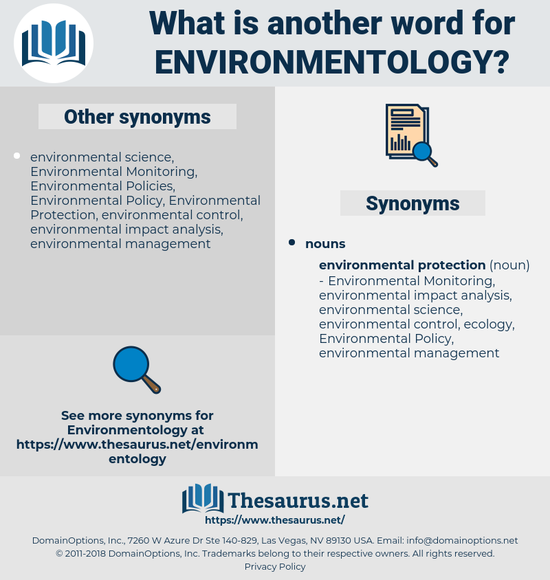environmentology, synonym environmentology, another word for environmentology, words like environmentology, thesaurus environmentology