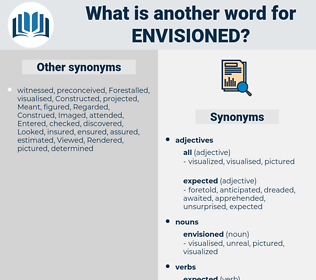 envisioned, synonym envisioned, another word for envisioned, words like envisioned, thesaurus envisioned