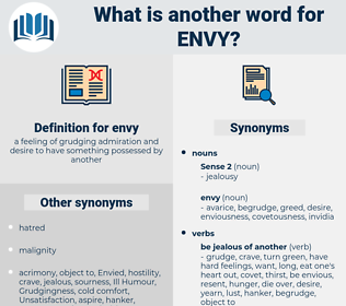 envy, synonym envy, another word for envy, words like envy, thesaurus envy