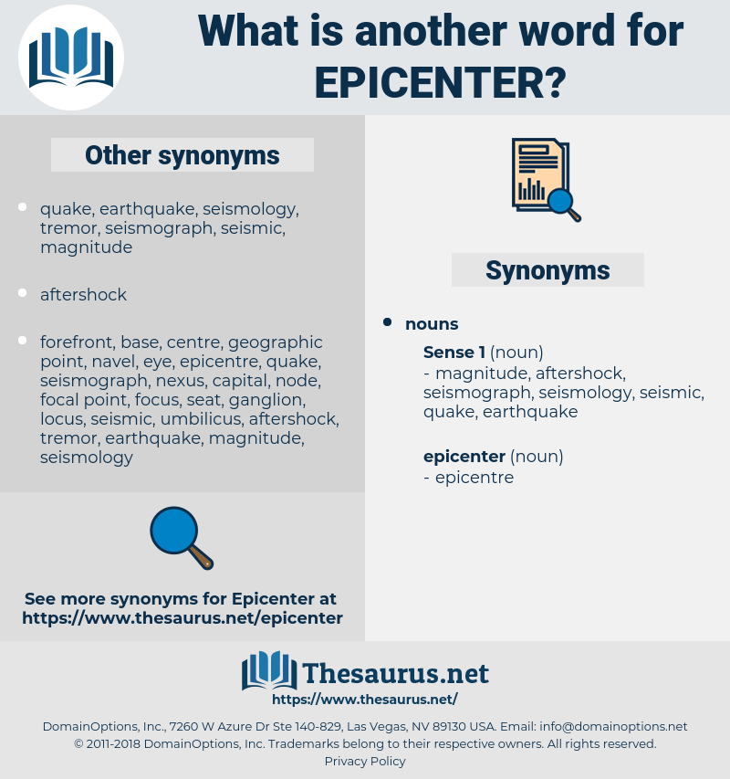 epicenter, synonym epicenter, another word for epicenter, words like epicenter, thesaurus epicenter