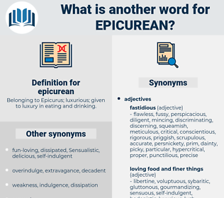 epicurean, synonym epicurean, another word for epicurean, words like epicurean, thesaurus epicurean