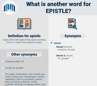 epistle, synonym epistle, another word for epistle, words like epistle, thesaurus epistle
