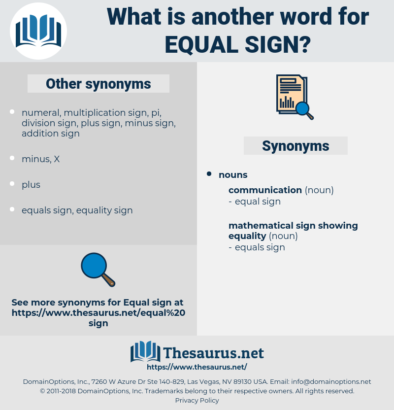 equal sign, synonym equal sign, another word for equal sign, words like equal sign, thesaurus equal sign