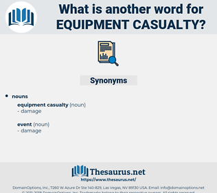 equipment casualty, synonym equipment casualty, another word for equipment casualty, words like equipment casualty, thesaurus equipment casualty