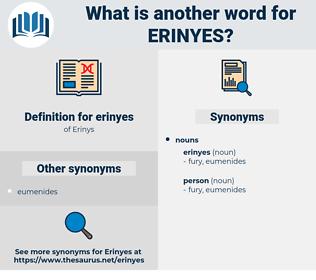 erinyes, synonym erinyes, another word for erinyes, words like erinyes, thesaurus erinyes
