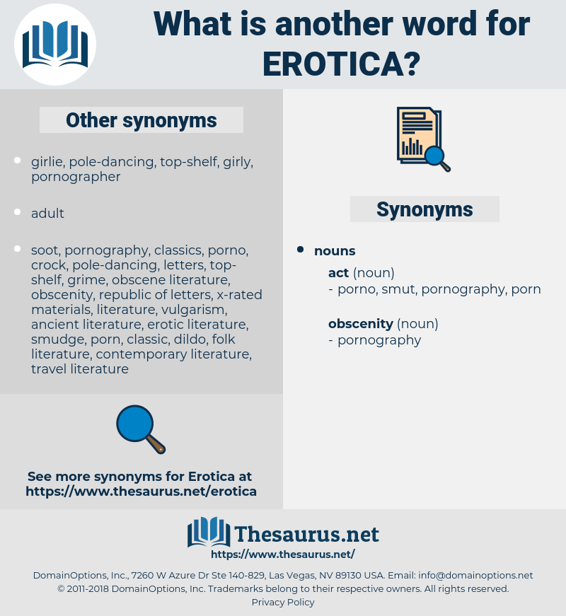 erotica, synonym erotica, another word for erotica, words like erotica, thesaurus erotica