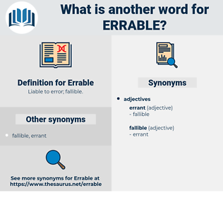 Errable, synonym Errable, another word for Errable, words like Errable, thesaurus Errable