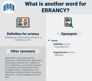 errancy, synonym errancy, another word for errancy, words like errancy, thesaurus errancy