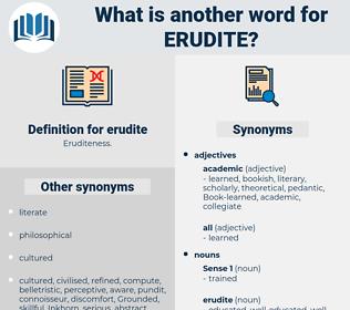 erudite, synonym erudite, another word for erudite, words like erudite, thesaurus erudite