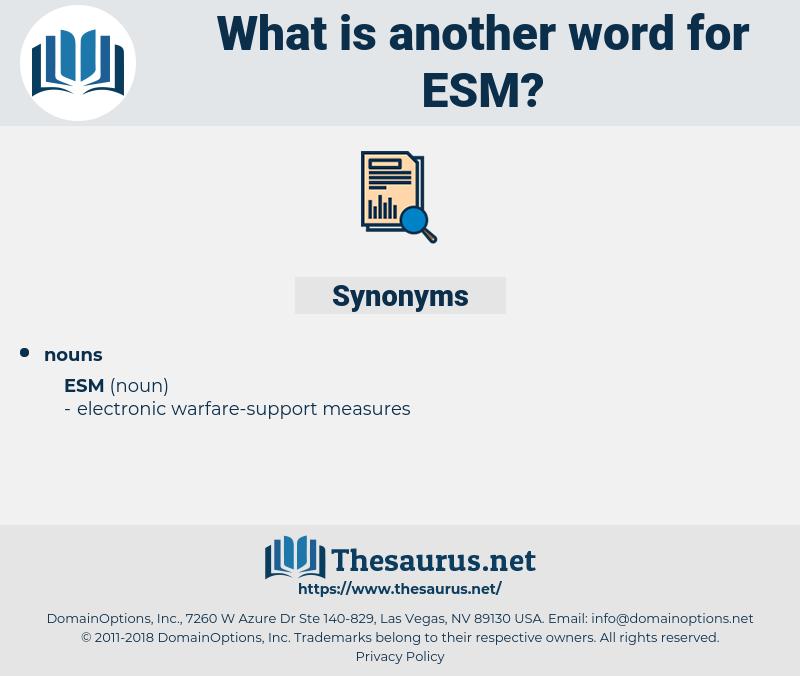 esm, synonym esm, another word for esm, words like esm, thesaurus esm