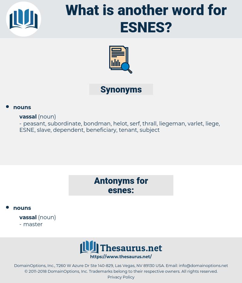 esnes, synonym esnes, another word for esnes, words like esnes, thesaurus esnes