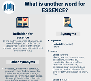 essence, synonym essence, another word for essence, words like essence, thesaurus essence