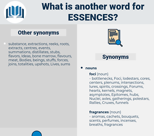 essences, synonym essences, another word for essences, words like essences, thesaurus essences