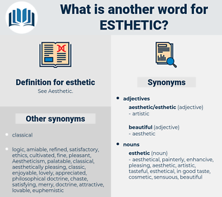 esthetic, synonym esthetic, another word for esthetic, words like esthetic, thesaurus esthetic
