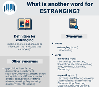 estranging, synonym estranging, another word for estranging, words like estranging, thesaurus estranging
