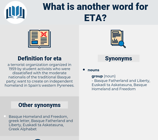 eta, synonym eta, another word for eta, words like eta, thesaurus eta