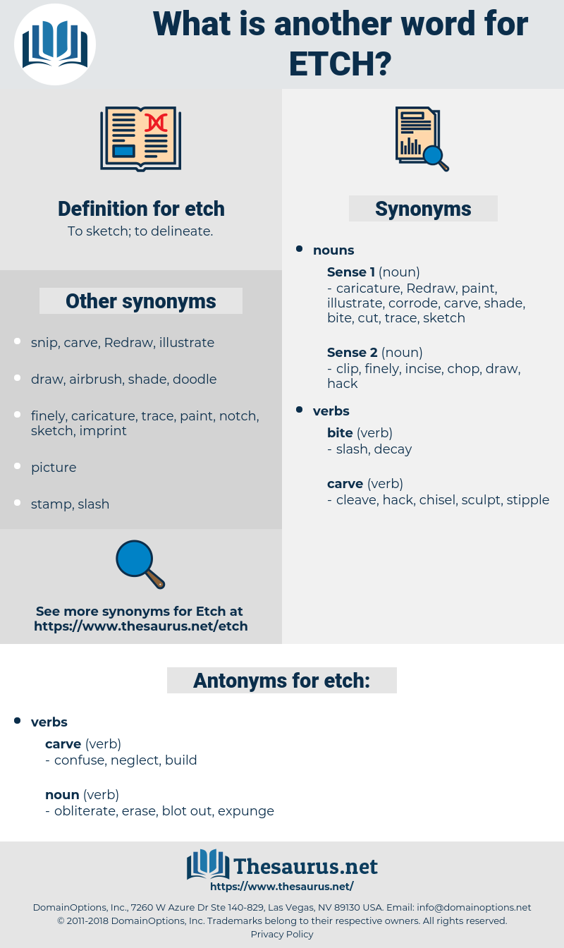 etch, synonym etch, another word for etch, words like etch, thesaurus etch