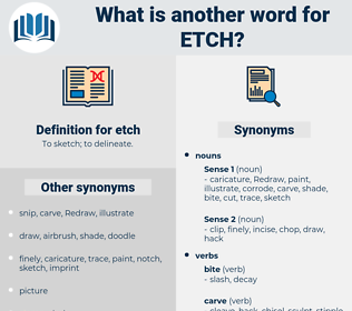 etch, synonym etch, another word for etch, words like etch, thesaurus etch