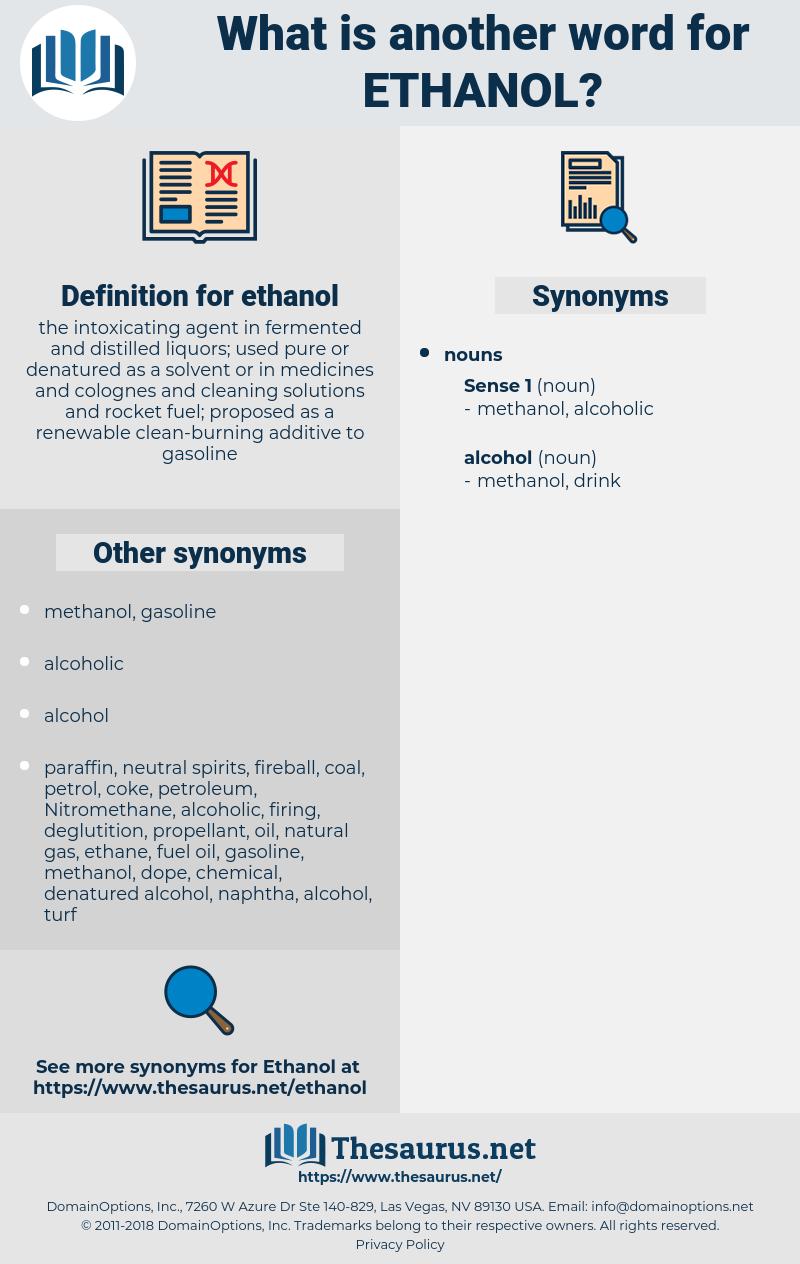 ethanol, synonym ethanol, another word for ethanol, words like ethanol, thesaurus ethanol