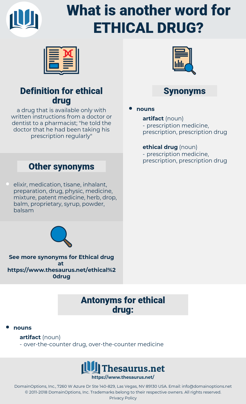 ethical drug, synonym ethical drug, another word for ethical drug, words like ethical drug, thesaurus ethical drug